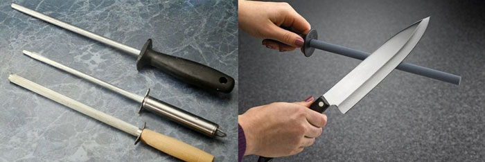 Мусаты и точение ножа