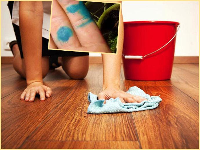 Смыв с кожи рук в домашних условиях 244
