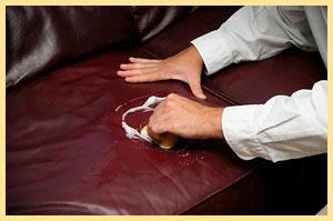 Мыть кожаный диван