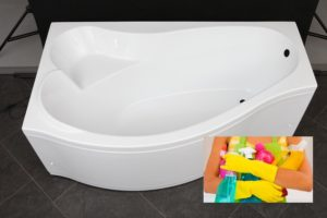 Внешний вид акриловой ванны