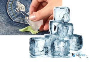 Лед против жвачки
