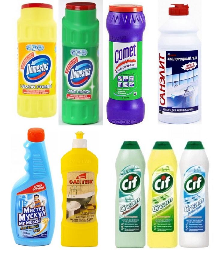 Кислотные чистящие средства