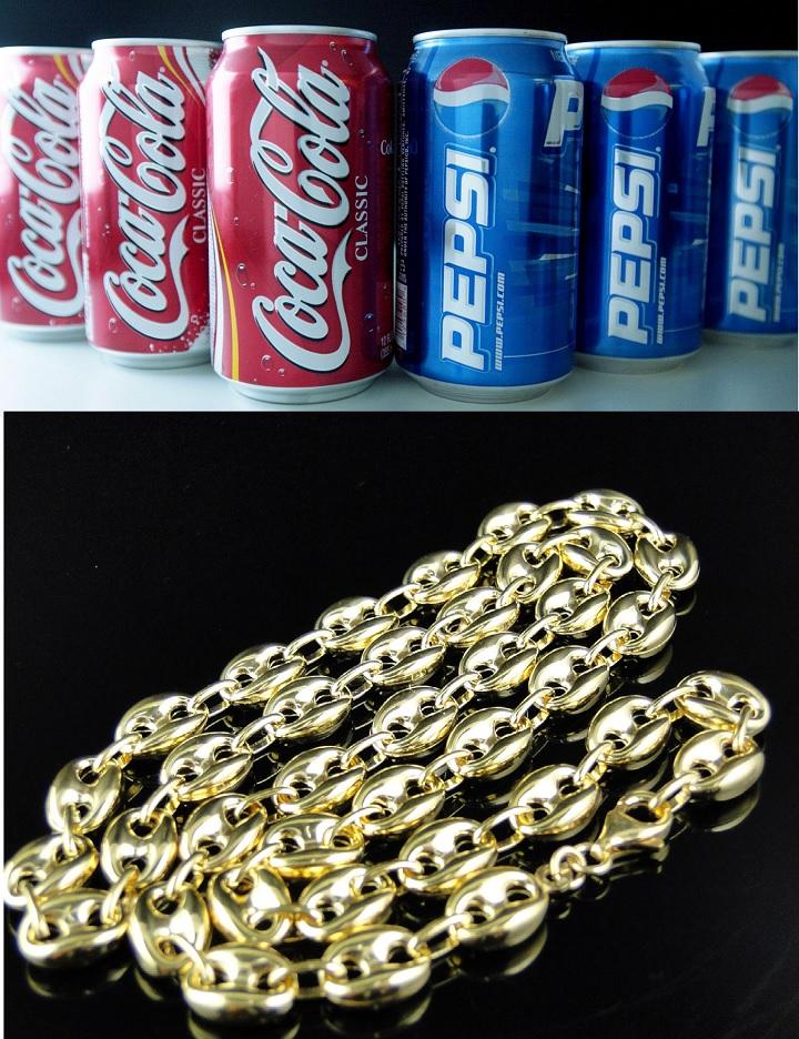 Золотая цепь и кока кола