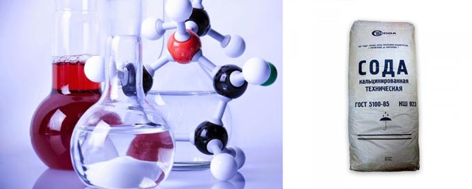 Химия и состав кальцинированной соды
