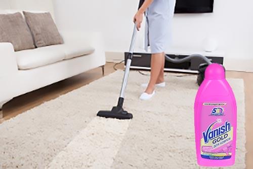 Ваниш шампунь для чистки ковров с моющим пылесосом