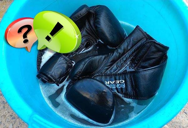 Можно ли стирать боксерские перчатки