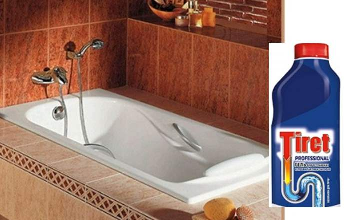 Тирет для ванны