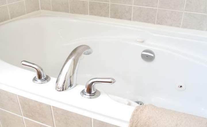 Чистая ванна