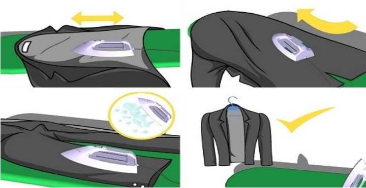 Техника глажки пиджака