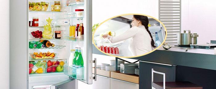 Правила арсстановки продуктов в холодильнике