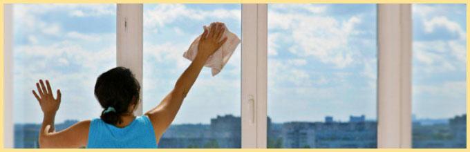 Мыть окна в облачную погоду