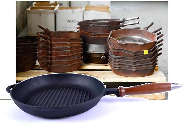 Чугунная сковорода: как прокалить перед первым использованием