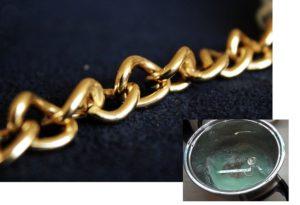 Золотая цепочка в кипятке