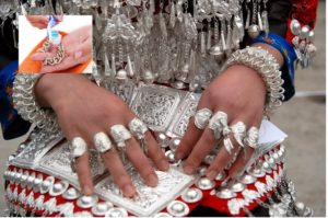 Серебро на всех пальцах