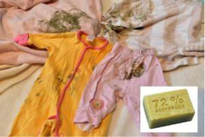 Выведение плесени мылом