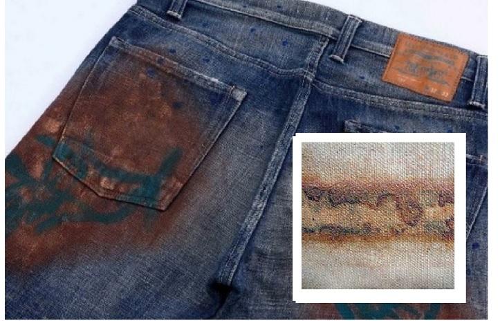 Как вывести пятна ржавчины с одежды в домашних условиях, чем удалить ржавчину