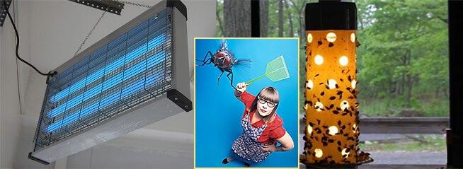 Электрические ловушки и мухобойки