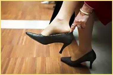 Если жмут туфли что делать