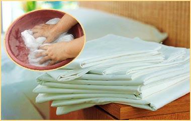 Белое белье и отбеливание