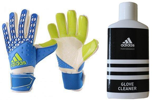 Вратарские перчатки и средство для их стирки адидас