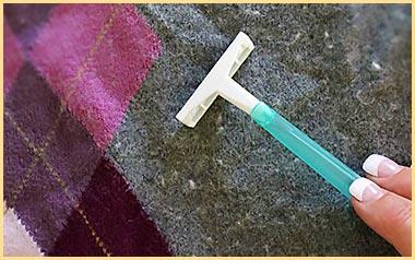 сбриванеи катышков на свитере