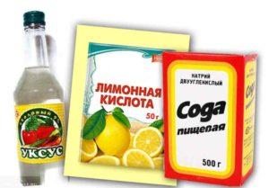 как почитстить ковер солью с лимонной кислотой