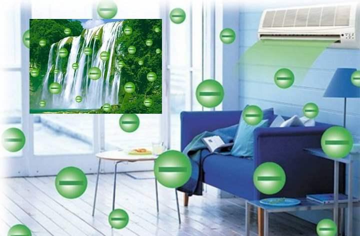 Что значит ионизация воздуха