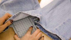 Состарить джинсы своими руками