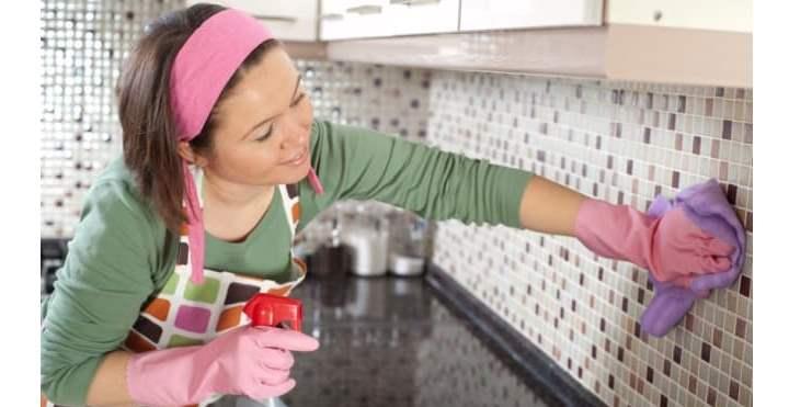 Способы очистки керамической плитки