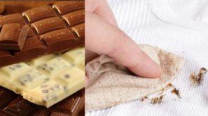 Разные шоколадные пятна