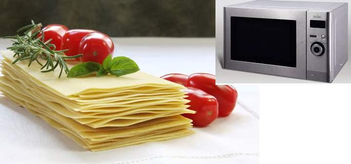 Тесто на лазанью
