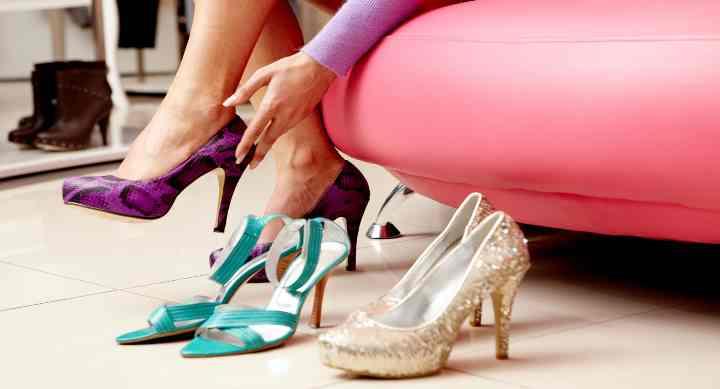 Туфли из искусственной кожи