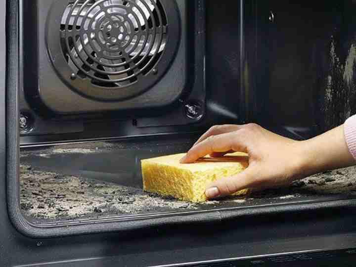 Очищаем духовку