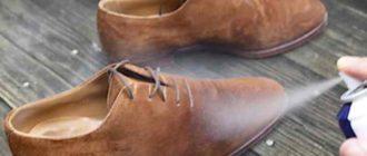 Правила ежедневного ухода за обувью из нубука