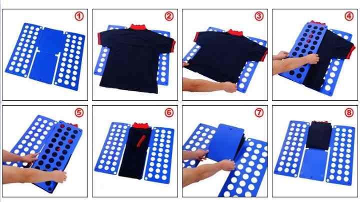 Такой способ является одним из самых популярных и самых простых, именно таким образом родители учат маленьких детей складывать одежду.