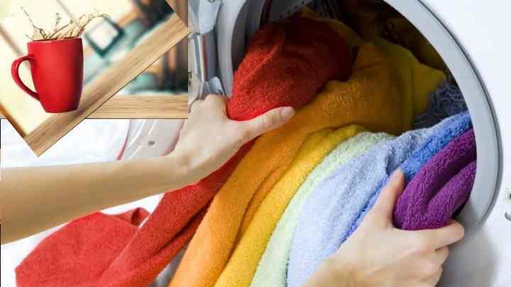 Цветные вещи являются наиболее сложными для очищения от любых пятен