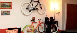 Неправильное хранение велосипедов в квартире может доставить немало неудобств