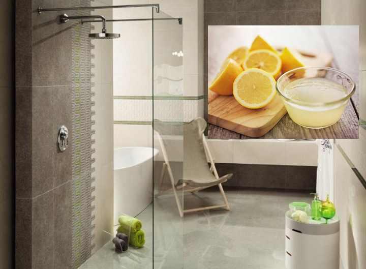 Сок свежевыжатого лимона или лимонная кислота позволяет с легкостью справиться с известковым налетом