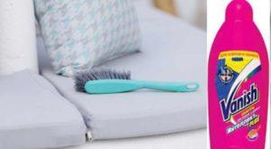 Ваниш для чистки мягкой мебели