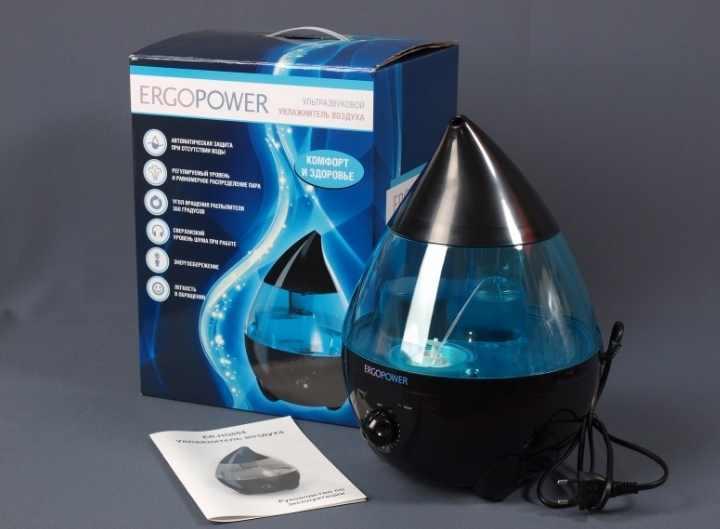 Прибор не только улучшает микроклимат в квартире, но и существенно снижает количество пыли в воздухе