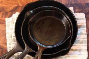 Причины появления ржавчины на чугунной сковороде