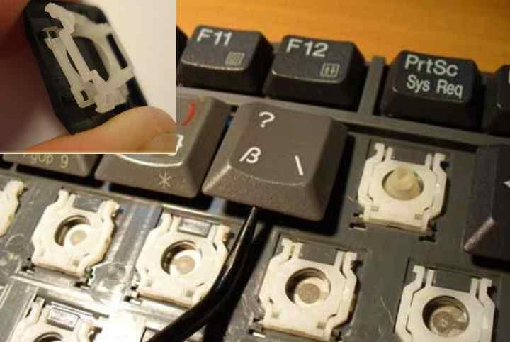 Причины и способы как починить неисправную клавиатуру