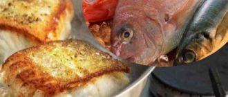 Из чего жарить рыбу