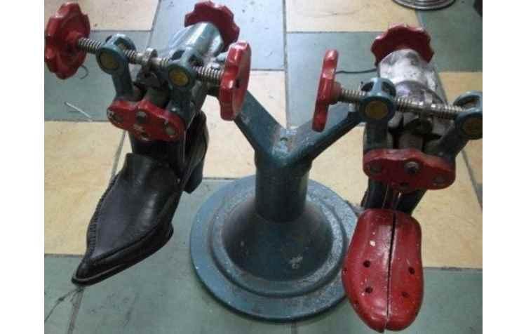 Обувь на станке