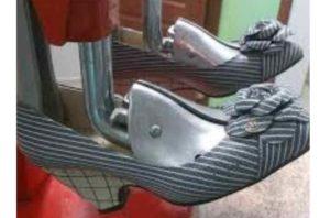 Туфли на станке
