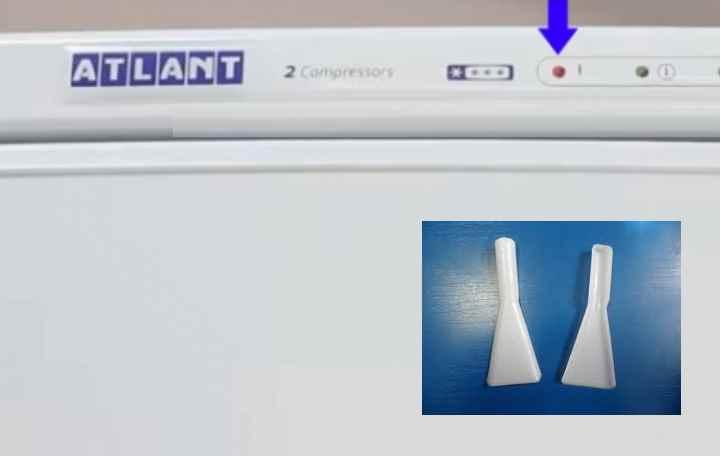 Что делать, если на холодильнике Атлант мигает H
