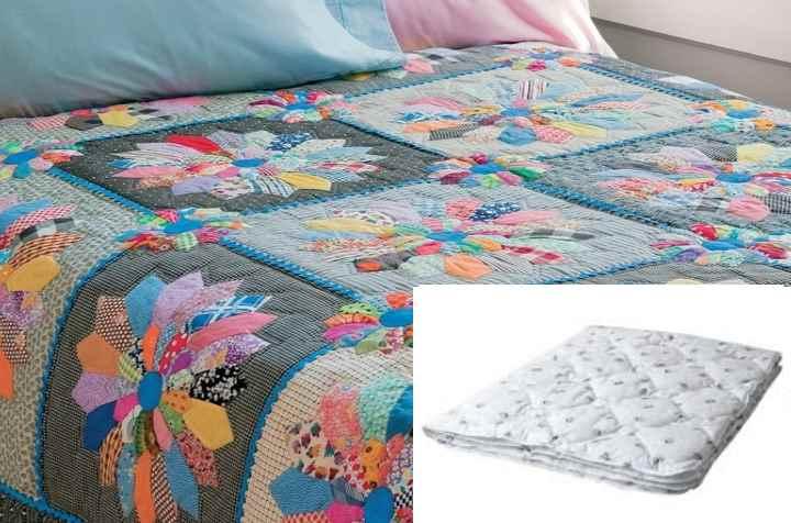 Как сшить одеяло самой
