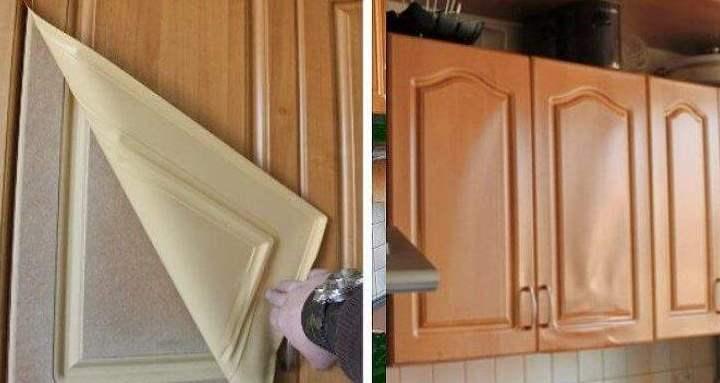 При нанесении пленки тщательно соизмеряйте площадь форму и площадь поверхности
