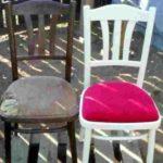 поролон мебельный, толщину выбирайте на свое усмотрение
