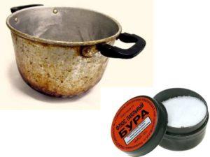 - приготовленным раствором обработайте металлические поверхности;